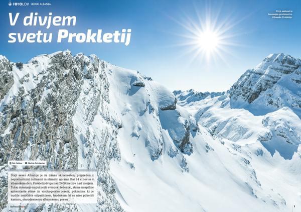 Heliski Albanija - V divjem svetu Prokletij