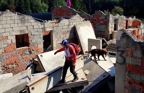 Bi radi videli pse reševalce v akciji? Ta vikend si jih lahko ogledate v Ljubljani!
