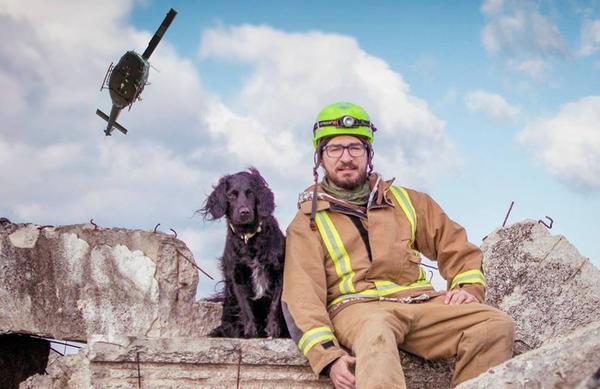 [INTERVJU] Vodnik psičke reševalke Boštjan Gartnar: »Reševanje je način življenja!«