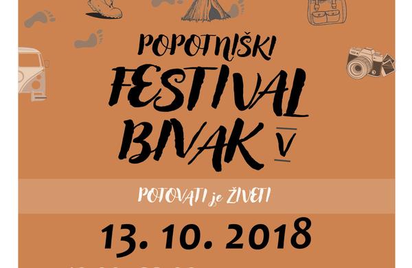 Festival Bivak kot stičišče popotnikov