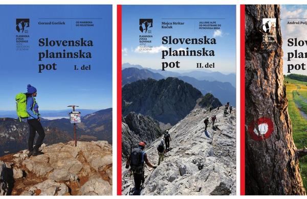Izšli novi vodniki po Slovenski planinski poti