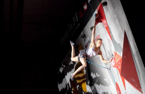 Janja Garnbret v boju za naslov športnice leta svetovnih iger