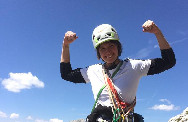 [INTERVJU] Alpinistka Marija Jeglič: