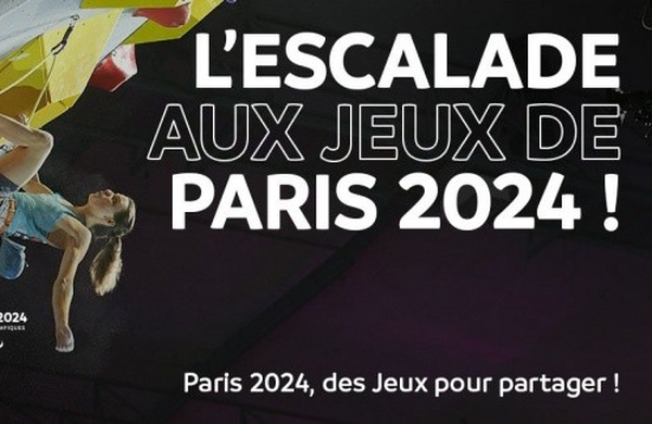 Športno plezanje znova med predlaganimi panogami za program OI v Parizu 2024!
