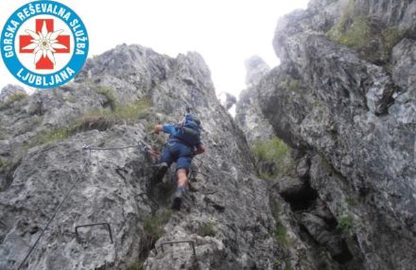 Dan varnejšega gibanja v gorah v letnih razmerah
