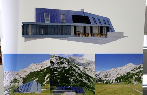 Predstavljen idejni projekt nove koče na Korošici