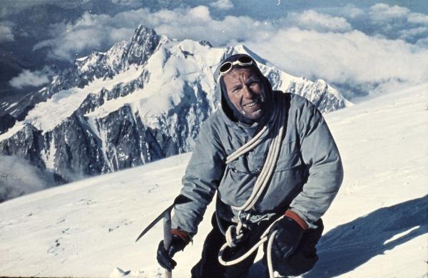 Alpinist »Živa mišica« Rado Kočevar se je prvič na Mont Blanc odpravil sam in z 10 dolarji v žepu