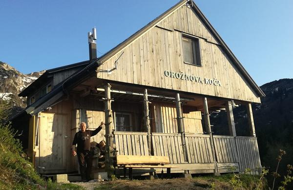 Mineva 125 let od postavitve prve slovenske planinske koče