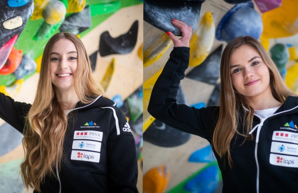 Urška Repušič evropska prvakinja, Vita Lukan podprvakinja v balvanskem plezanju