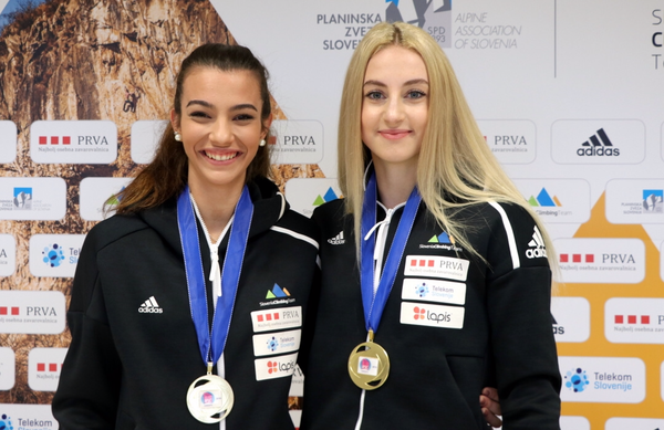 Že 23 slovenskih medalj z evropskih prvenstev v športnem plezanju