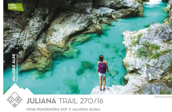 Jutri uradna otvoritev daljinske pohodne poti Juliana