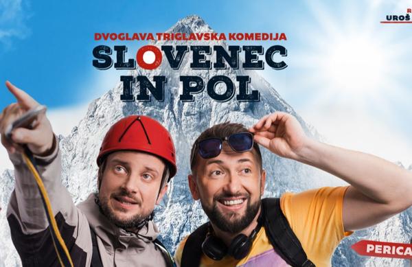 Slovenec in pol, dvoglava triglavska komedija