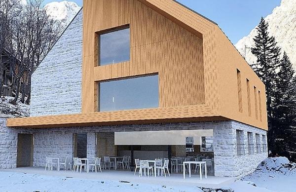 Idejna zasnova za nov Frischaufov dom na Okrešlju. Vam je všeč?
