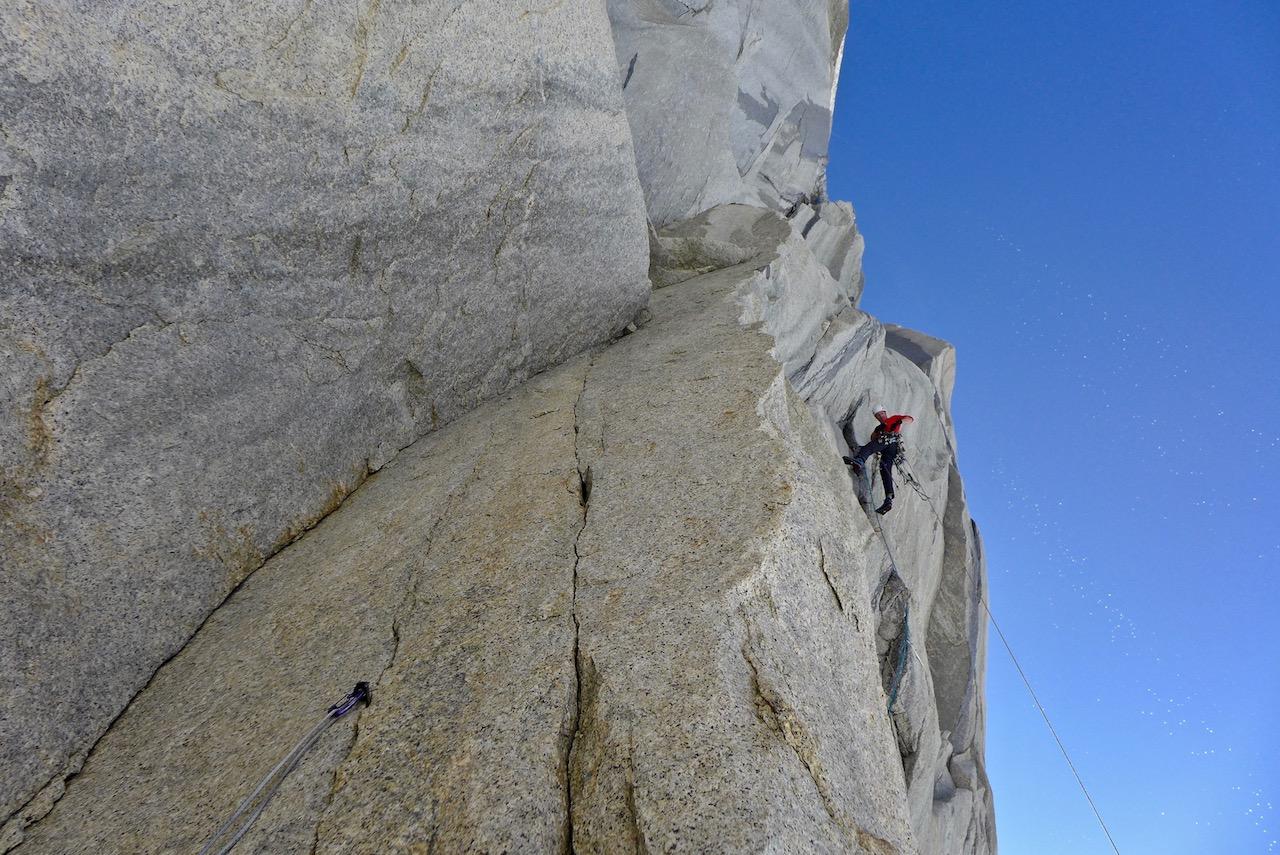 Nova prvenstvena smer in nov odmeven uspeh slovenskega alpinizma