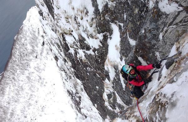 Prvenstveni smeri naveze Jaklič–Jeglič na Norveškem