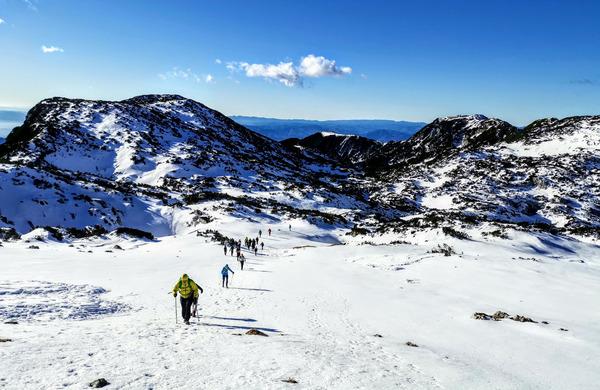Lahka planinska pot dobi v zimskem času popolnoma drug obraz