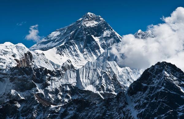 Najvišja gora na svetu je še malo zrasla