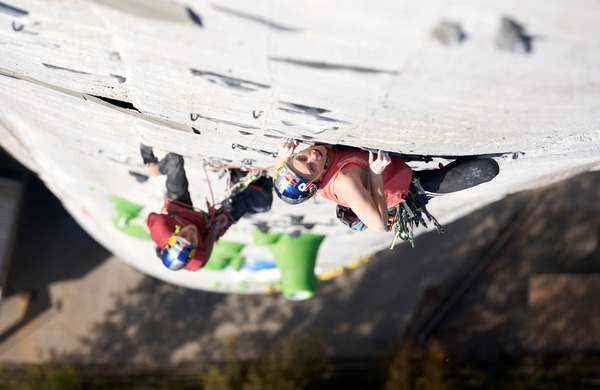 [VIDEO] Neverjeten podvig slovenskih plezalcev Janje Garnbret in Domna Škofica