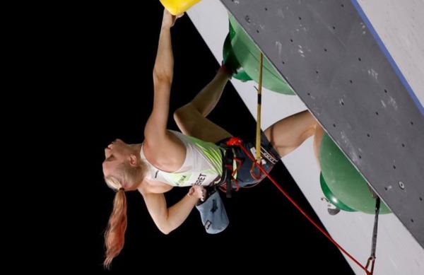 Janja je kraljica športnega plezanja